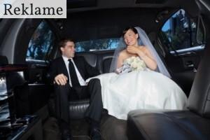 Bryllupskørsel til den store dag